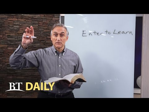 "BT Daily: ""Enter to Learn"""