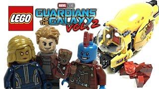 getlinkyoutube.com-LEGO Guardians of the Galaxy 2 Ayesha's Revenge review! 2017 set 76080!
