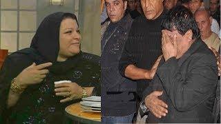 getlinkyoutube.com-شاهد بكاء شعبان عبد الرحيم وهو يتقبل التعازى فى  زوجته