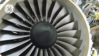 getlinkyoutube.com-GE90 and GEnx Composite fan blades