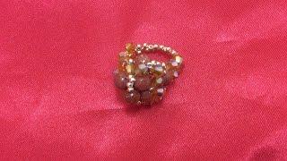 getlinkyoutube.com-Anillo de perlas y tupies  de SWAROVSKI