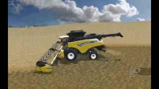 getlinkyoutube.com-Farming Simulator 2015:  Soybean Harvest