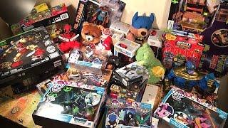 getlinkyoutube.com-Destiny, FNAF, MLP, Deadpool, Walking Dead, Doctor Strange - Огромная посылка из США с игрушками