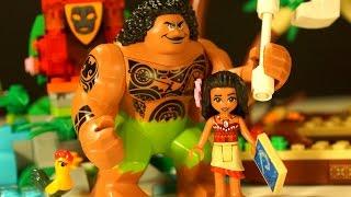 getlinkyoutube.com-МОАНА !!! Лего Дисней Игрушки из Мультика Моана !!! Lego Disney Moana 41150 Moana's Ocean Voyage