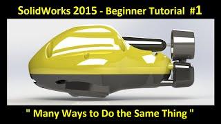 getlinkyoutube.com-SolidWorks 2015 Tutorial 001