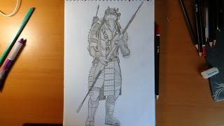 getlinkyoutube.com-How to draw ninja turtles Donatello from movie 2014