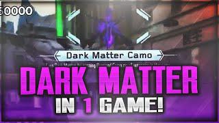 "29 DIAMOND GUNS IN ONE GAME! Unlocking ""DARK MATTER CAMO"" In 1 MATCH! (Black Ops 3 DARK MATTER)"