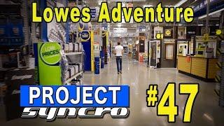 getlinkyoutube.com-Adventure to Lowes -  Project Syncro #47