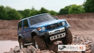 getlinkyoutube.com-Tamiya 49490 Mitsubishi Pajero Metal Top Wide RC 4x4 CC-01