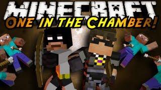getlinkyoutube.com-Minecraft Mini-Game : ONE IN THE CHAMBER!