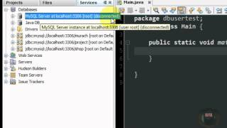 getlinkyoutube.com-ربط قاعدة البيانات في بيئة البرمجة Defining MySQL in Netbeans