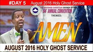 getlinkyoutube.com-Pastor E.A Adeboye Sermon At RCCG August 2016 HOLY GHOST SERVICE
