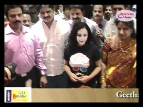 Geetha Krishna Shopping Centre Inaugurated by Actress Nitya Menon at Vanasthalipuram