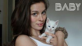 getlinkyoutube.com-BABYKATZE: SÜßESTES zugelaufenes Katzenbaby! | KÄTZCHEN / KITTEN VLOG