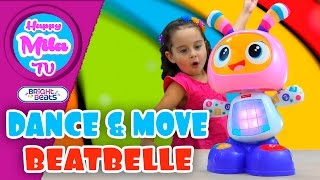 getlinkyoutube.com-Dance And Move Beatbelle by Bright Beats 40+ Learning Songs Tunes and Phrases | HappyMilaTV #235