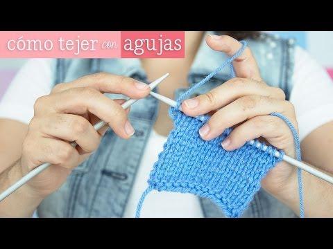 Cómo tejer con agujas [ Mini serie de Tejido EP 3 ]