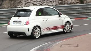 getlinkyoutube.com-LOUD Abarth 500 w/ Ragazzon Exhaust in Monaco | INSANE SOUND!