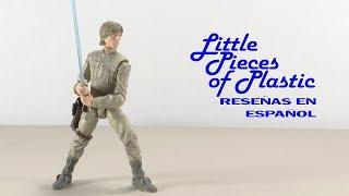 """getlinkyoutube.com-Luke Skywalker Star Wars Black Series 6"""" Juguete Reseña Action Figure Toy Review"""