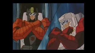 getlinkyoutube.com-Transformers Masterforce Best Scenes: Part Three (Gather, The Four Godmaster Gunmen)