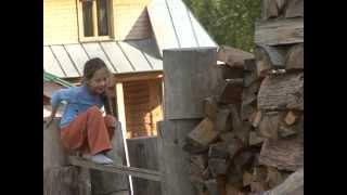 getlinkyoutube.com-Росы - в глубине тайги Сибирской народ сам создает Райские Родовые Поместья