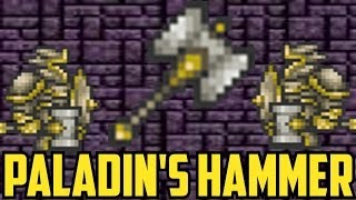 getlinkyoutube.com-Terraria 1.2 - Paladin's Hammer - How to Get It, Boss Tests