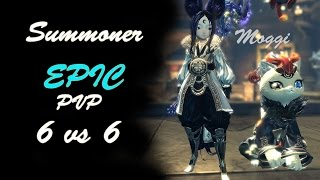 getlinkyoutube.com-Blade & Soul - Epic Match 1 vs 6 - Summoner