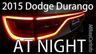 getlinkyoutube.com-2015 Dodge Durango AT NIGHT