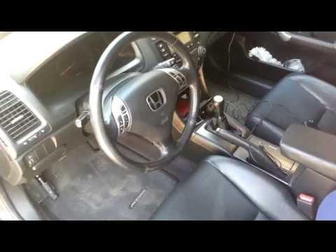 Honda Accord cl 7-cl 9 Как правильно отрегулировать педаль сцепления- коробка механика.