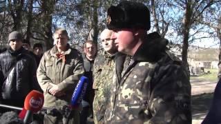 getlinkyoutube.com-3 марта 2014. Ситуация в Бахчисарае вокруг военной части.