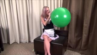 getlinkyoutube.com-Roxie Big Balloon Sit Pop Attempt