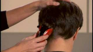 getlinkyoutube.com-Popular men's hairstyle made easy by Conair - How-to video for business haircut