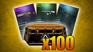 getlinkyoutube.com-NEW AK-47, M16, & CEL-3 SHOTGUN! (Advanced Warfare 100x Supply Drop Opening Gameplay)