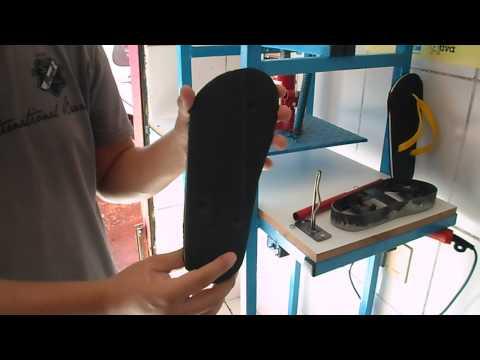 [Demonstração] Maquina De Fabricar Chinelos Mk-3