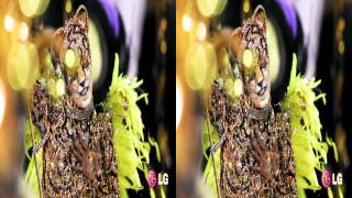 LG 3D Demo - Carnaval - Rio 2012 - 3D Side by Side (SBS)