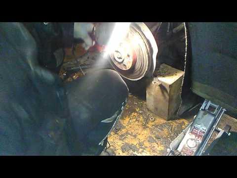 Замена рулевого наконечника фольксваген т5 без сьемника.