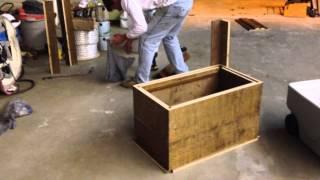getlinkyoutube.com-How to make an Ice Chest Box