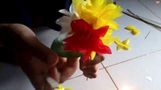 getlinkyoutube.com-Cara Membuat Bunga Dari Plastik
