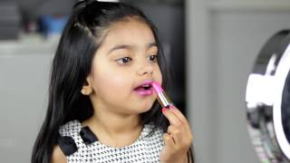 Simple Spring MakeUp by 4 Year Old Girl | Aimalifestyle