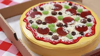 HOW TO MAKE A CAKE PIZZA - NERDY NUMMIES