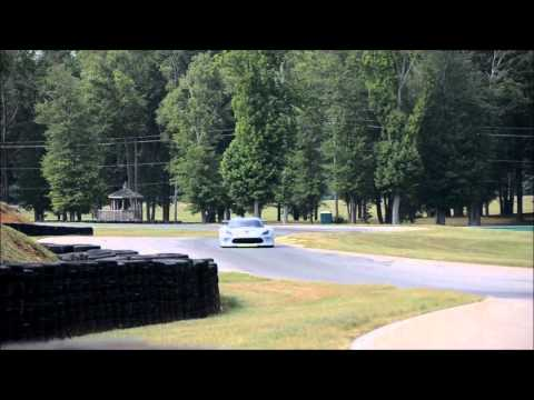 The 2013 Viper GTS-R takes on the roads of Virginia International Raceway for testing.