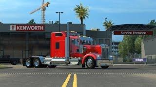 getlinkyoutube.com-American Truck Simulator Cummins N14 sound mod