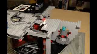 getlinkyoutube.com-LEGO minifigs building the Death Star
