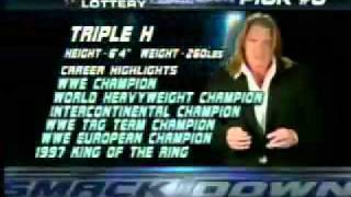 Triple H Drafted To Smackdown 2004