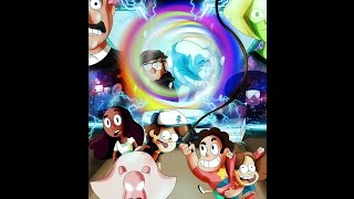 getlinkyoutube.com-What would happen if Gravity Falls crossover Steven Universe AMV