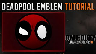 getlinkyoutube.com-Black Ops 3 - cool & easy Deadpool Emblem Tutorial | very simple