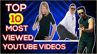 Top 10 Most Viewed YouTube Videos || Funny_troll