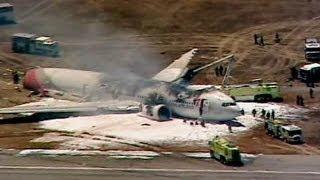 getlinkyoutube.com-خلبان هواپیمای آتش گرفته، «در حال تمرین» برای پرواز با بوئینگ ۷۷۷ بود