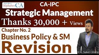Chapter 2 Strategic Management Revision