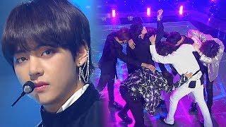 《POWERFUL》 BTS(방탄소년단)   FAKE LOVE @인기가요 Inkigayo 20180603