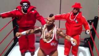 "getlinkyoutube.com-WWE ACTION INSIDER: E18 Brodus Clay figure review Elite 18 Mattel figures ""grims toy show"""